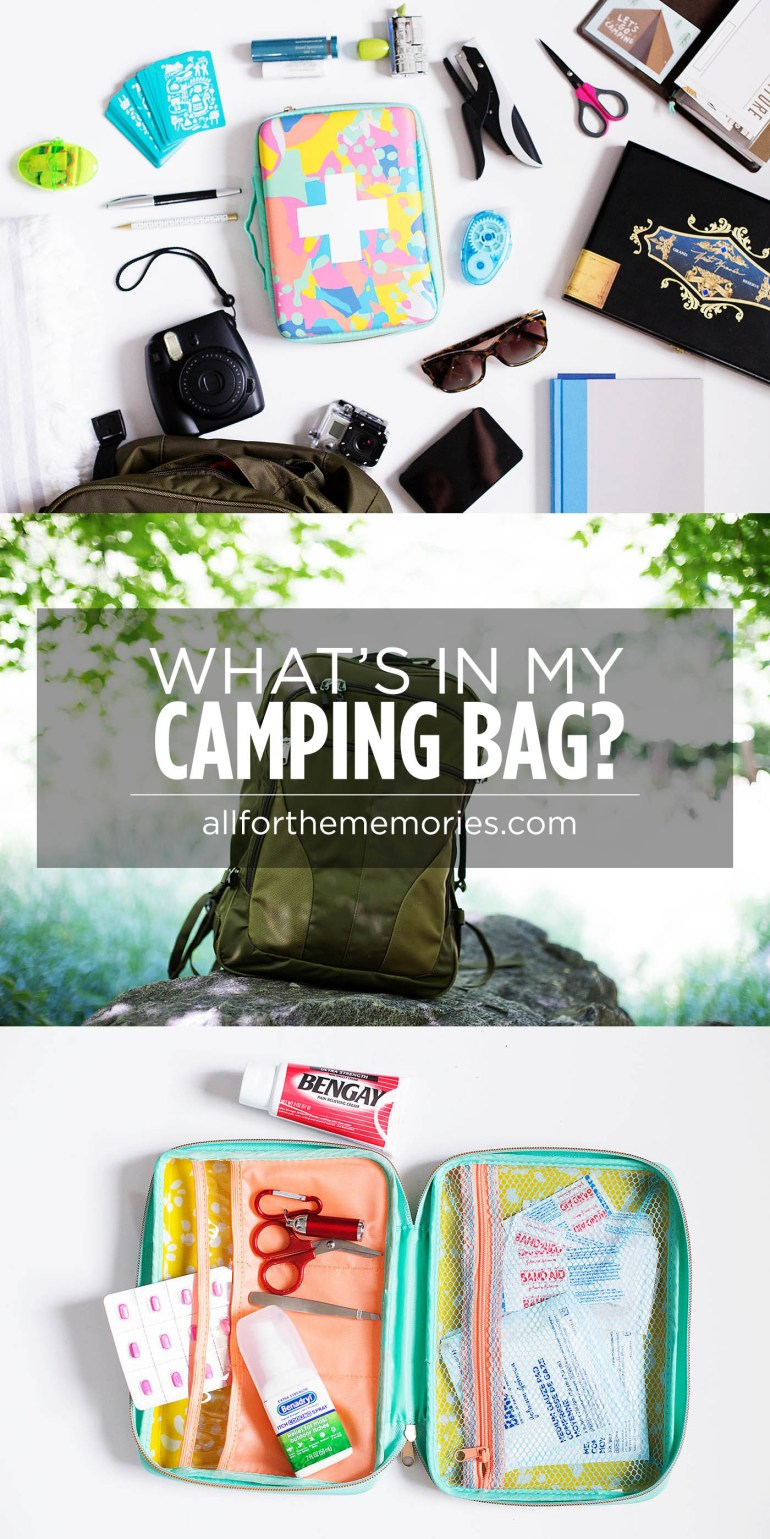What's in my Camping Bag