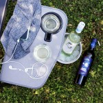 DIY no sew running belt with Sheep Thrills Wine - both pair perfectly with adventure!
