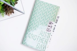 Just Another Day mini album class - traveler's notebook size with Allison Waken at Big Picture Classes