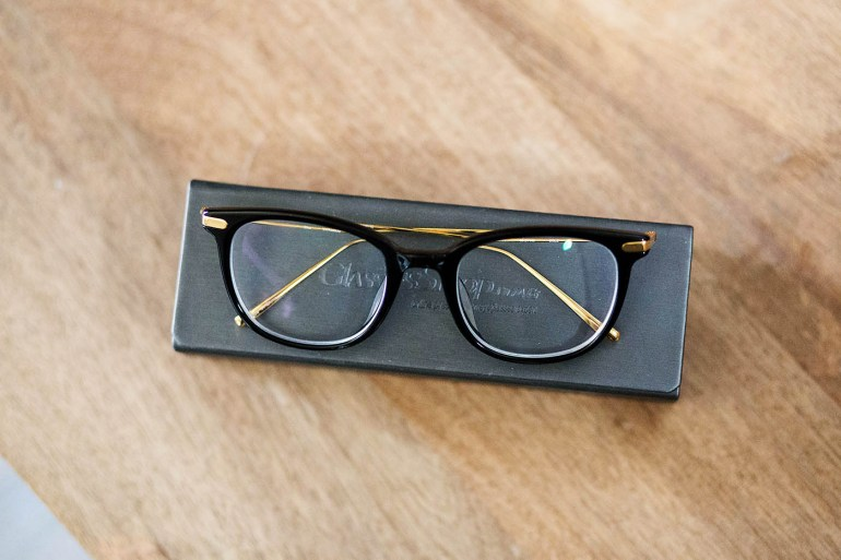Glasses from GlassesShop.com - Sagittarius Rectangle