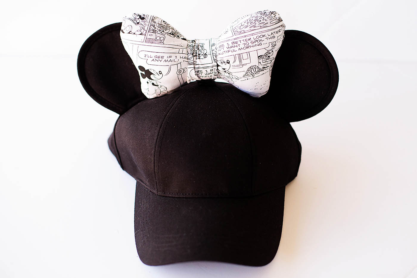 Diy Minnie Ears Hat With Interchangeable Bows All For The