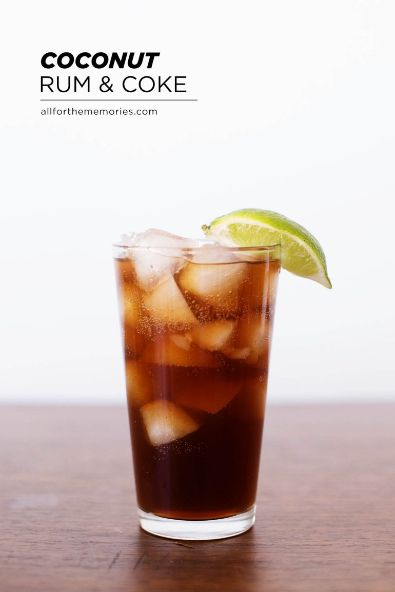 Coconut rum and Coke plus tips on creating
