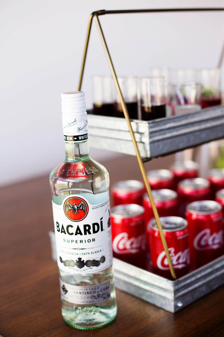 Rum and Coke Signature drink bar
