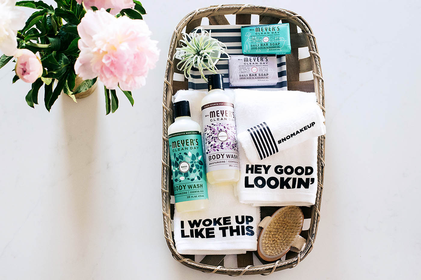 Bath Gift Set With Personalized Towels All For The Memories