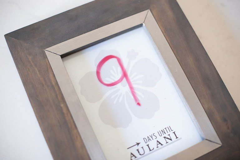 Disney Aulani Vacation Countdown Printable