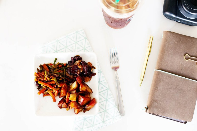 Easy meals when traveling