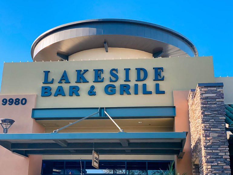 Unique restaurants to try in Peoria, Arizona - Lakeside Bar & Grill