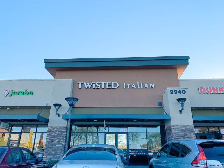 Unique restaurants to try in Peoria, Arizona - Twisted Italian