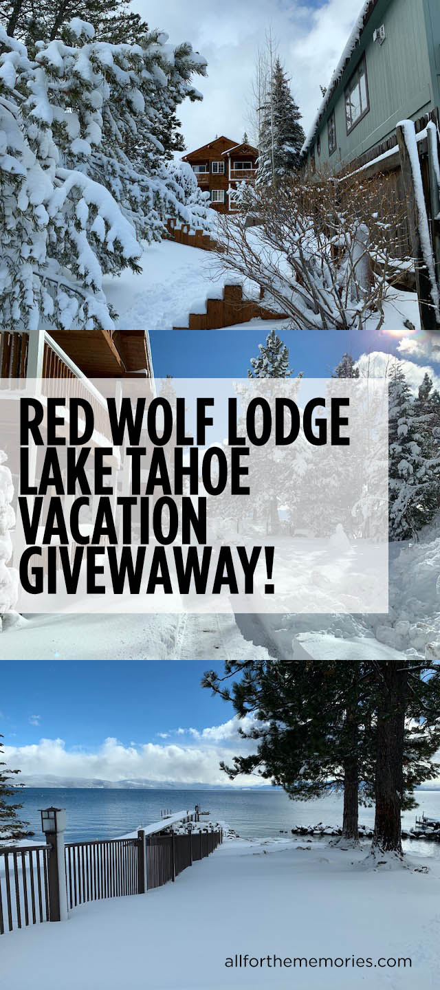 Red Wolf Lodge Lake Tahoe 3-night vacation giveaway