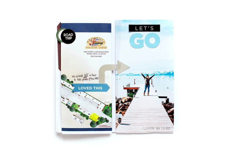 Road Trip Scrapbook Embellishments & Labels to Print Then Cut with Cricut