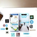 Road Trip Scrapbook Embellishments & Labels to Print Then Cut with Cricut