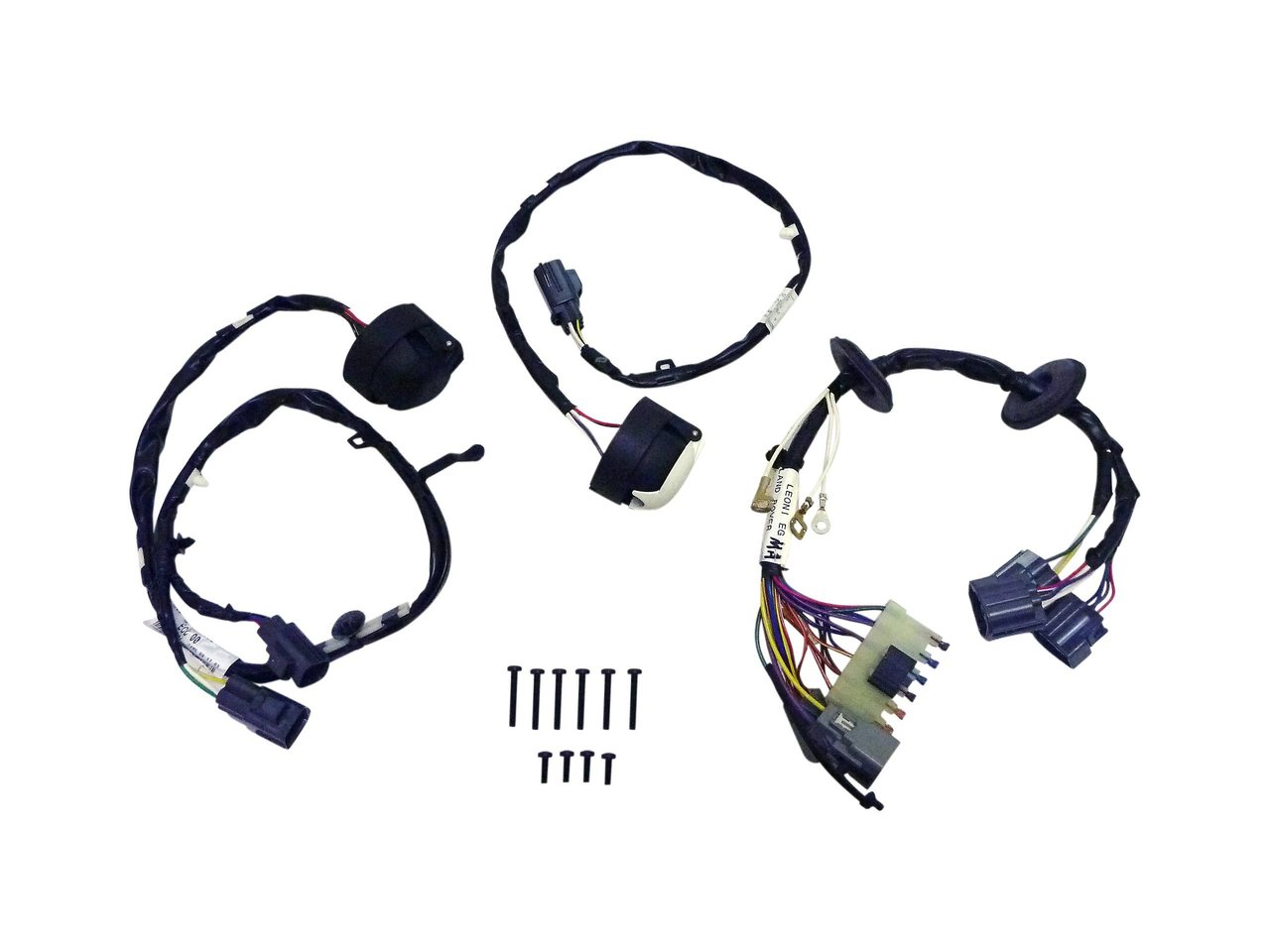 Trailer Wiring Harness Two Plug Land Rover Discovery 3 Genuine