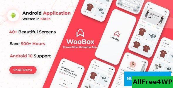WooBox v11.0- WooCommerce Android App E-commerce Full Mobile App + kotlin