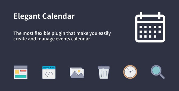 Codecanyon – Elegant Calendar – WordPress Events Calendar Plugin v1.1.0