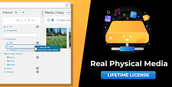 Codecanyon – WordPress Real Physical Media: Physical Media Folders & SEO Rewrites v1.4.1