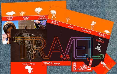 Travel Brochure Design 40 Beautiful Examples