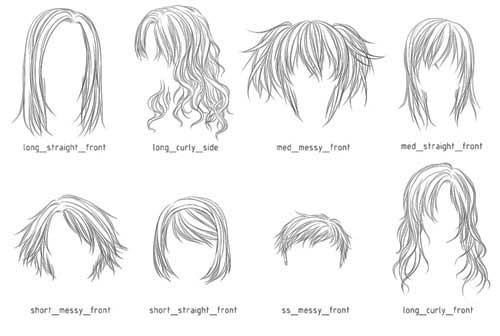 Hair Photoshop Brushes: 200+ Fabulous Styles to Download