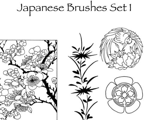 Japanese Brushes for Photoshop: 20 Free Sets to Download