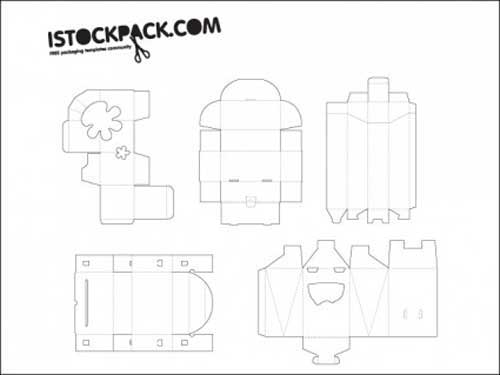 Packaging Template Designs: 30 Free Vector Files to