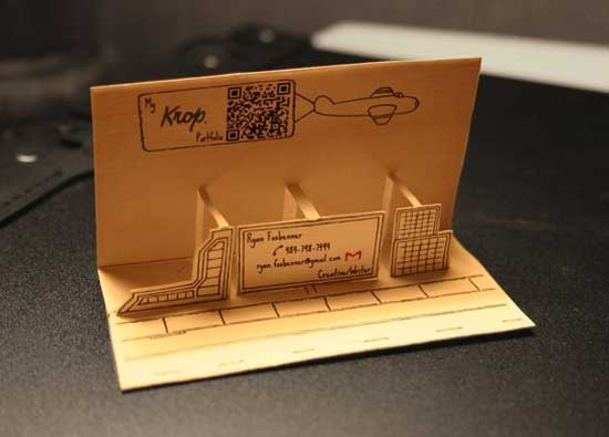 Pop Up Business Cards 38 Unique Examples