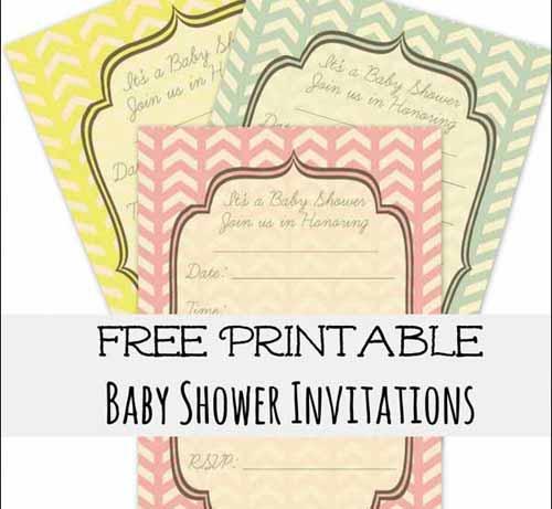 Shower Invitation Cards 35 Sets Of
