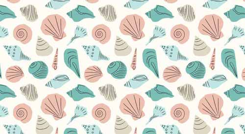 Cute Mint Green Wallpaper Nautical Background 90 Seamless Sailing And Beach Patterns