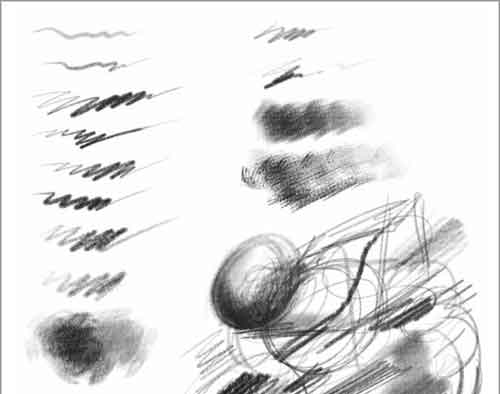 Photoshop Pencil Brush Sets For Hand-Drawn Effects