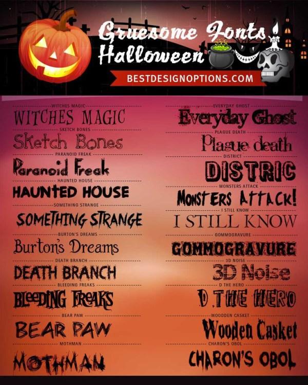 free halloween fonts # 14