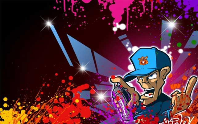 Graffiti Wallpaper 50 Funky Designs to Customize Your Desktop