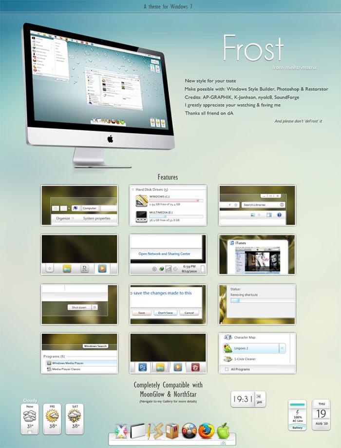 Download Skinpack Windows 7 : download, skinpack, windows, Windows, Skins:, Styles, Download