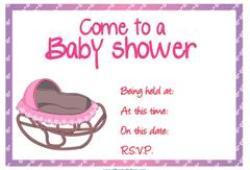 Rocker baby shower invitation free