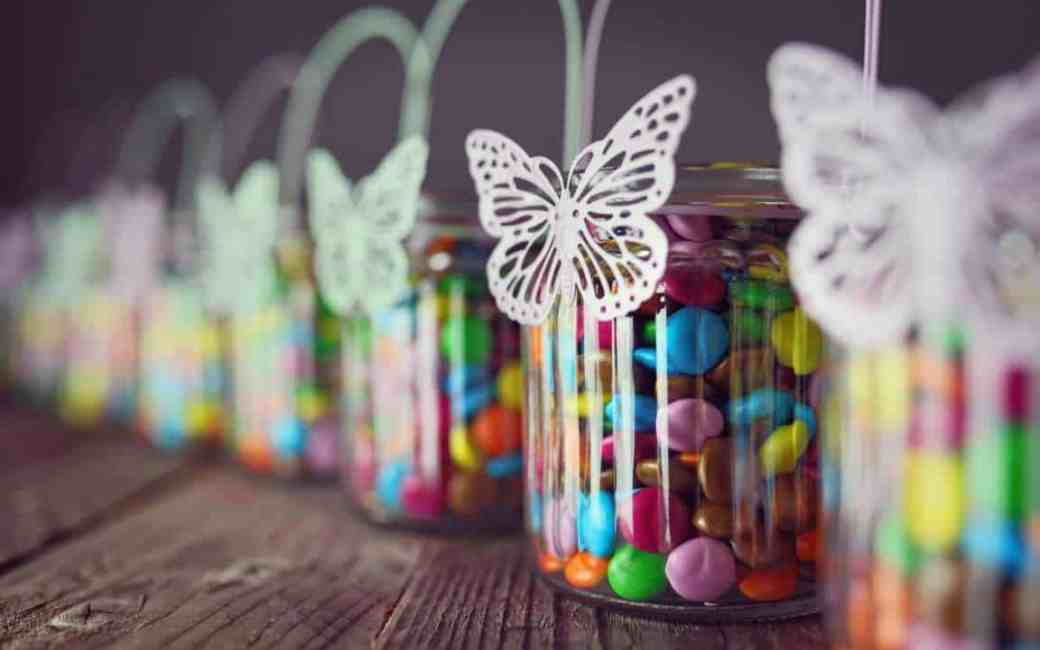 Chocolate Candies in Jars - All Free Invitations