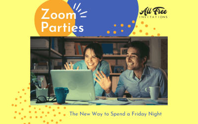Zoom Party – A New Way to Spend a Friday Night