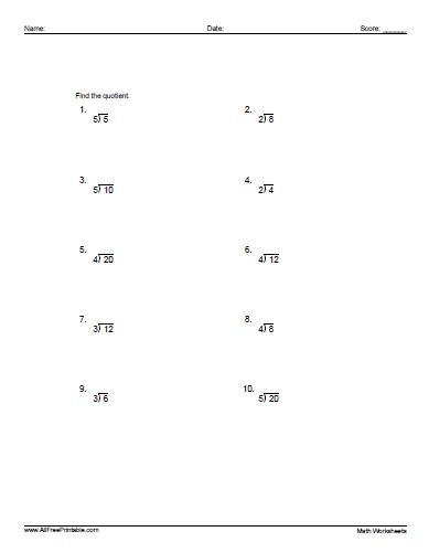 Division Worksheets  Fact Triangles Multiplication And