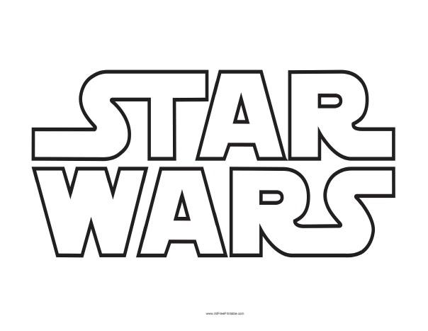 Star Wars Logo Free Printable Allfreeprintable Com