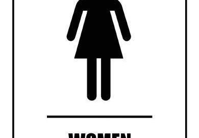 Printable Womens Bathroom Sign