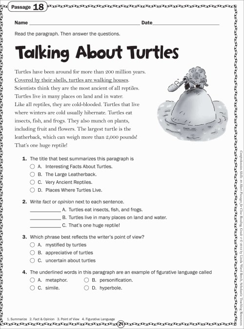small resolution of Free 6th Grade Reading Worksheets   Printable Worksheets and Activities for  Teachers