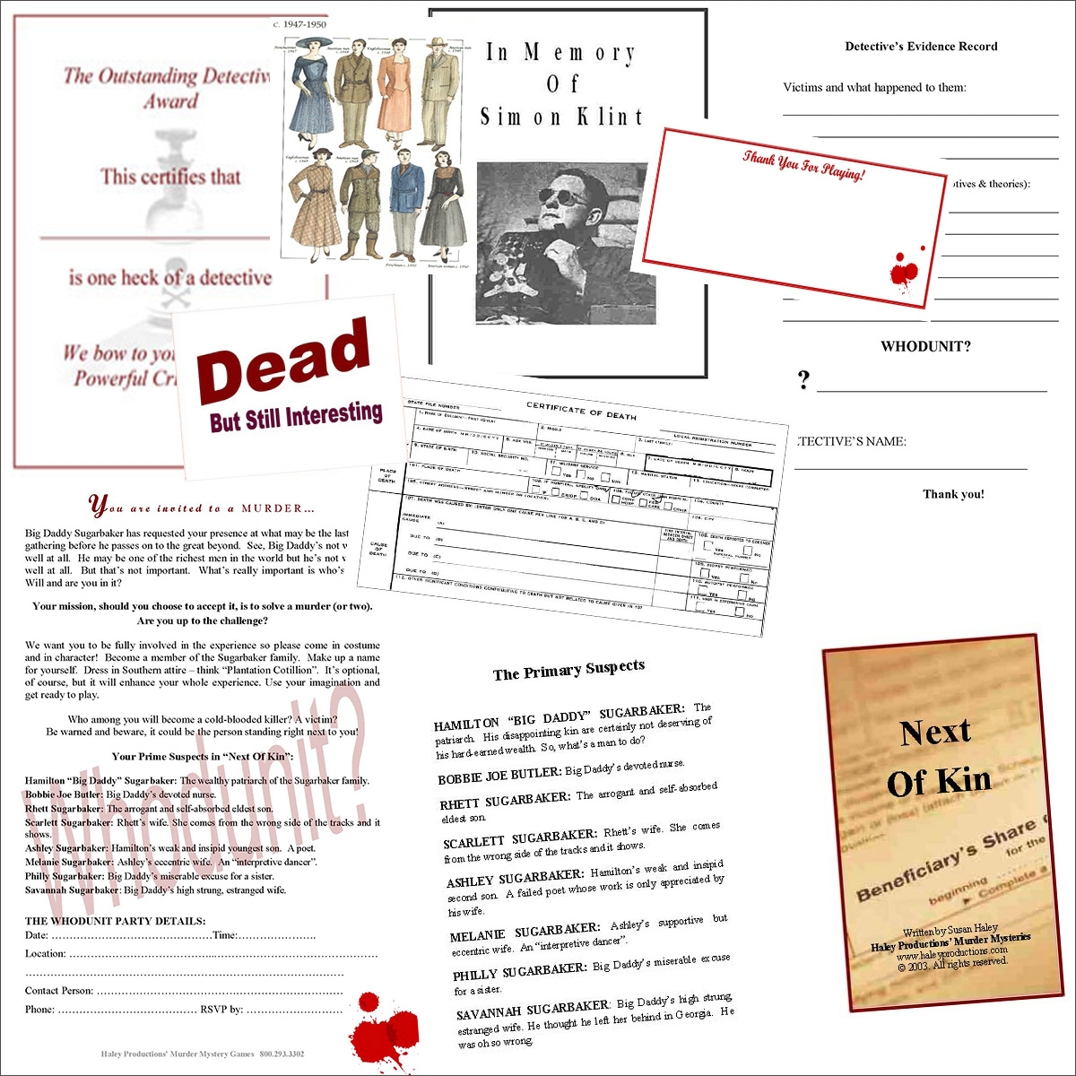 Printable Detective Games That Are Gorgeous