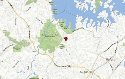 Barrington Sugar Hill Community Map Location Gwinnett GA