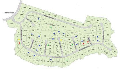 Site Plan For Quailwood Flowery Branch