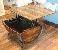 The 11 Best Oak Barrel Coffee Tables in the Universe