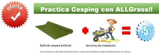 ofertas cesped artificial