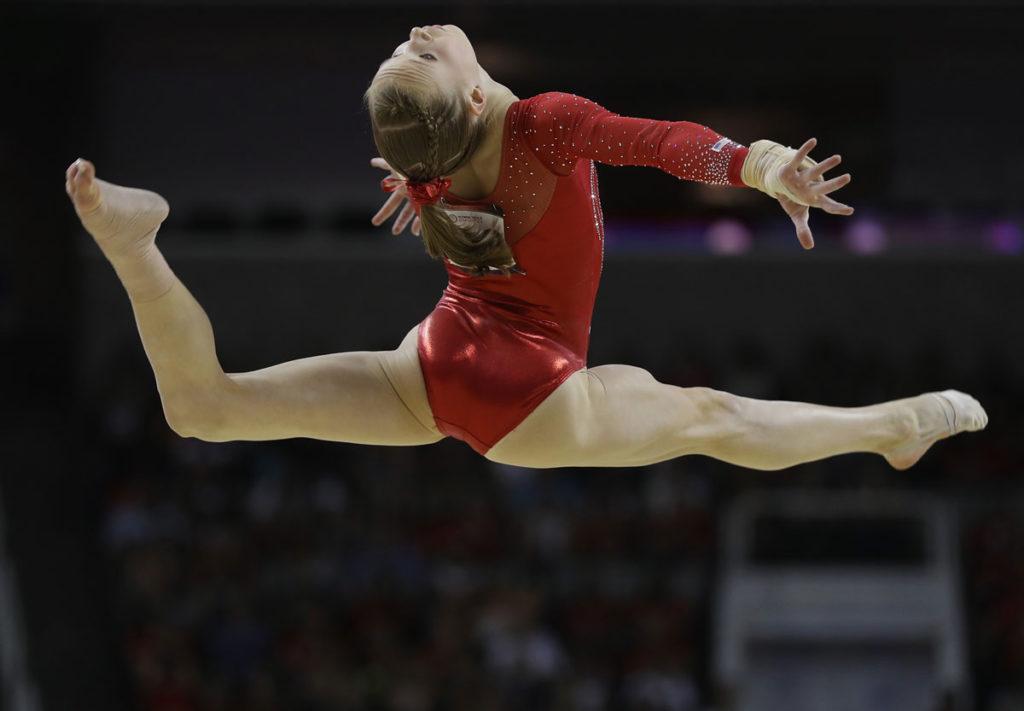 Cute Gymnastics Hairstyles  allgymnastscom