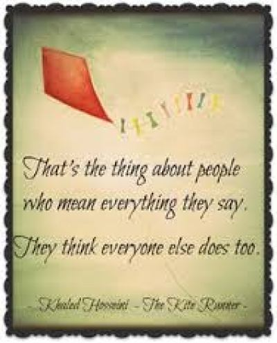 the kite runner quote