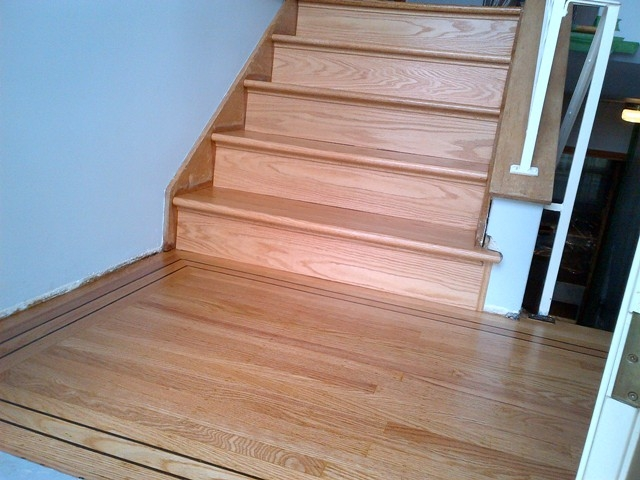 Ahf Hardwood Stairs Steps Installations For Burnaby Coquitlam   Oak Replacement Stair Treads   Stringer   Stair Stringers   Risers   Wood Stair   White Oak