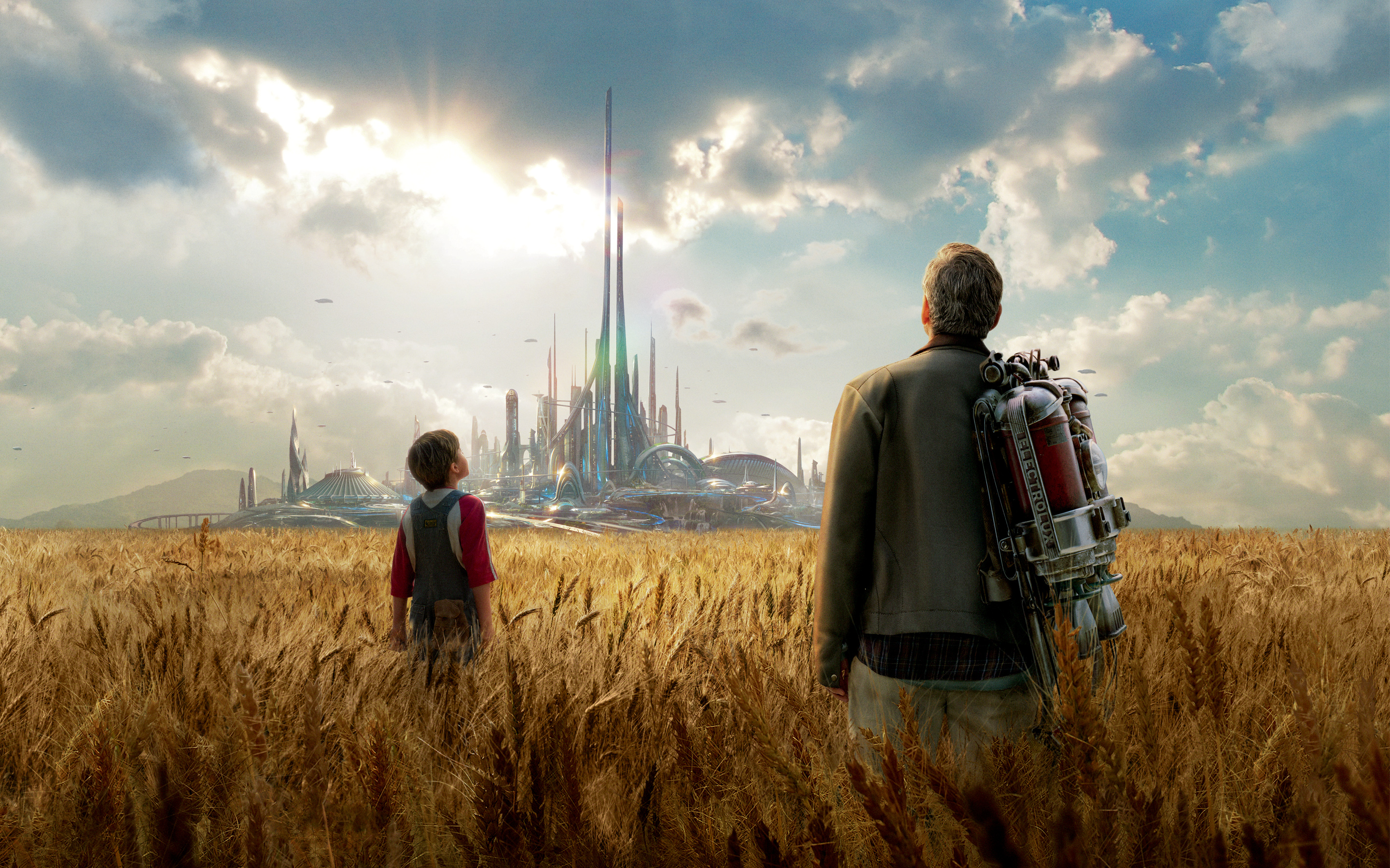 New Tomorrowland Movie Hd Desktop Wallpapers 2015  All Hd