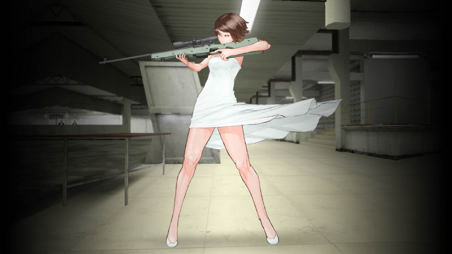 Girl With Guns Hd Wallpapers Counter Strike High Resolution Hd Wallpapers All Hd