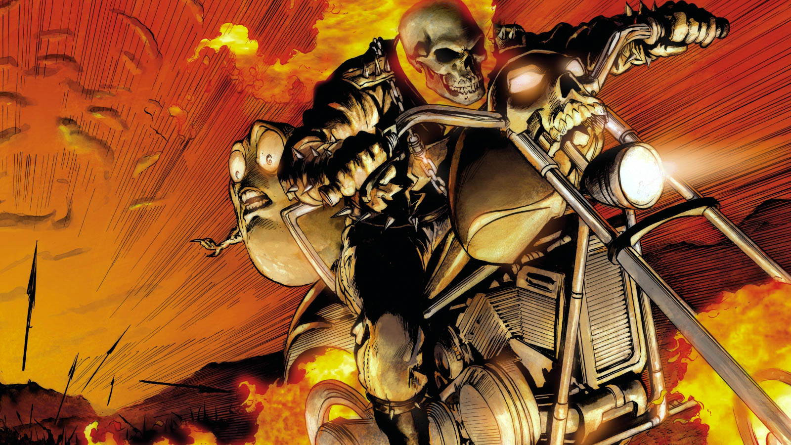 Wallpaper Hd Ghost Rider Ghost Rider Amazing Wallpaers Hd Pictures All Hd Wallpapers