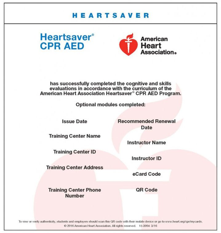 Try These American Heart Association Instructor Portal