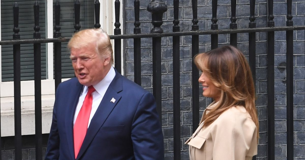 President Trump and Melania Trump